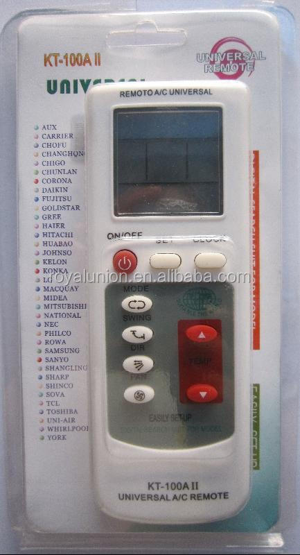 plastic air conditioner remote control AC remote control