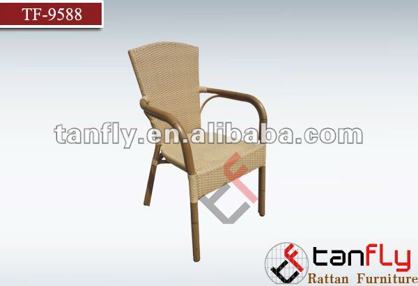 Garden Furniture -Aluminium Wicker Chair TF-9588 chaise de plage