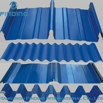 Zinc Roofing Sheet Metal Building Material,Corrugated Steel ...
