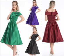 Clothes walson China factory 2016 Instyles New Dress Clearance Sale Vintage Style 50s Rockabilly Party Prom