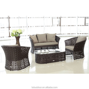 Garden used cane rattan outdoor wicker furniture