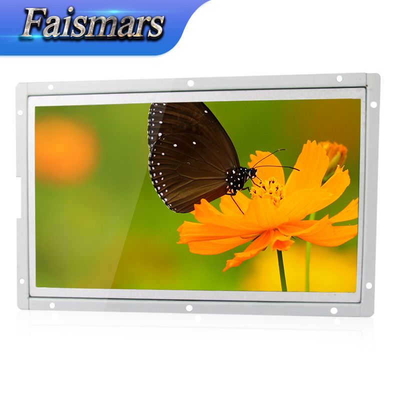 "Faismars 1400*1050 12.1"" Open Frame Touch LED LCD Monitor, 12.1 inch TFT Touch Screen LCD Monitor VGA/DVI/USB interface"