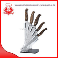 Nice Brown color Kitchen Knife set, premium knife, forged knife C109-6P(W27)