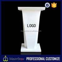 Custom cheap high end acrylic podium pulpit lectern