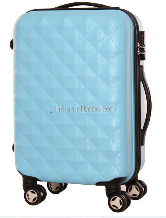 trolley case luggage travel bags and hard suitcase ABS PC carry on luggage
