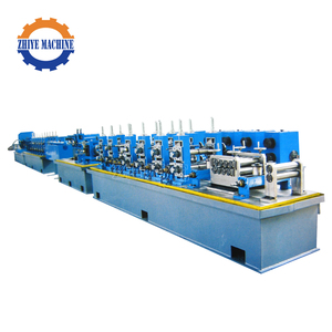 Connection Stainless Steel Square Welded Pipe Making Machine