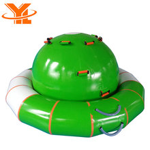 Inflatable Water Seesaw, Saturn Rocker, Water Park Toys UFO