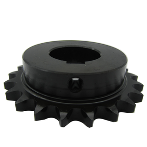 Finished bore drive sprocket with keyway and set screws