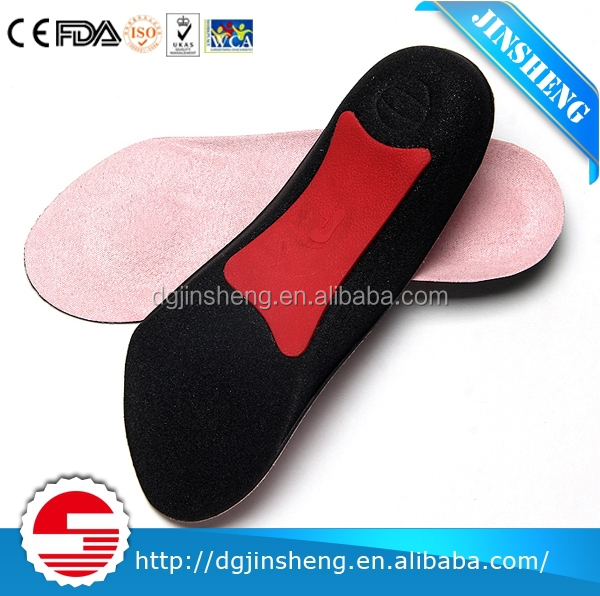 orthotic insole for heel support of extra protection and stability