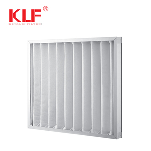 Commercial air conditioning pleated synthetic fiber furnace electrostatic air filter