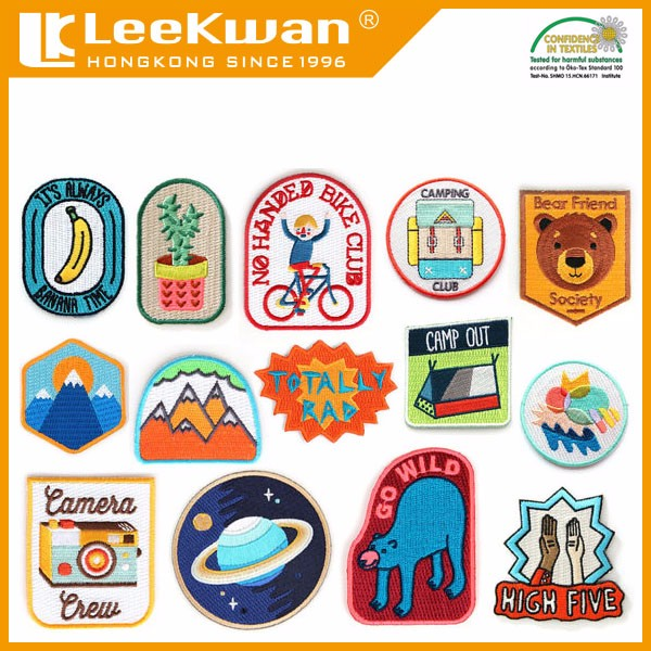 Customized Embroidery Patch Products