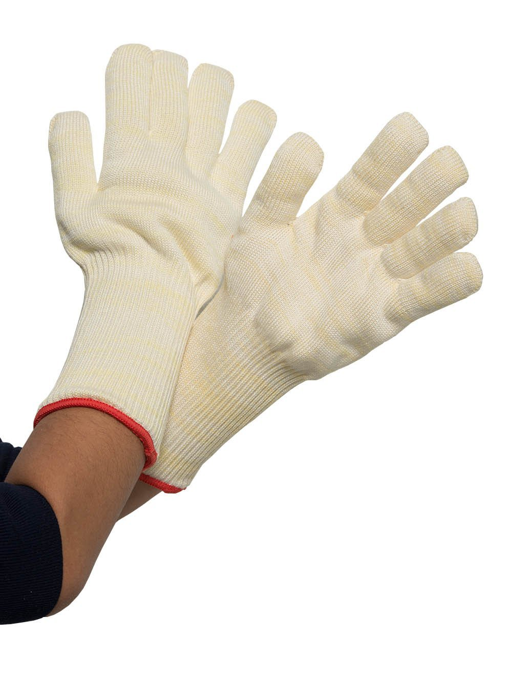 Joyutoy Professional Kevlar Nomex Heat & Cut Resistant Knitted Gloves For Kitchen Protects UP To 250 Degree Oven Mitt Warm gloves
