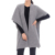 Custom Women Knitted Wool Feel Open Front cape shawl Poncho beach towel knitting patterns Wrap Cardigan Sweater Topper