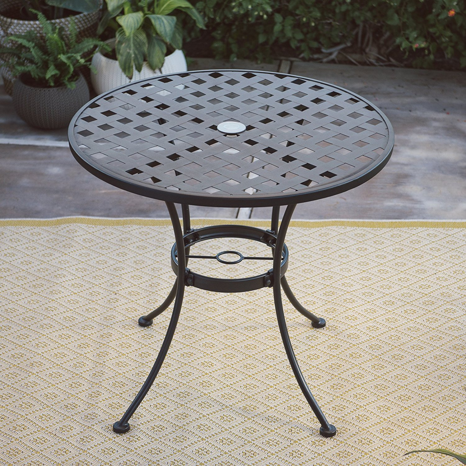 b425805da9d09 Cheap Black Wrought Iron Patio Table