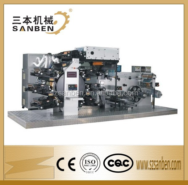 sbl-300) Central Cylinder Type Rotary Label Printing Machine ...