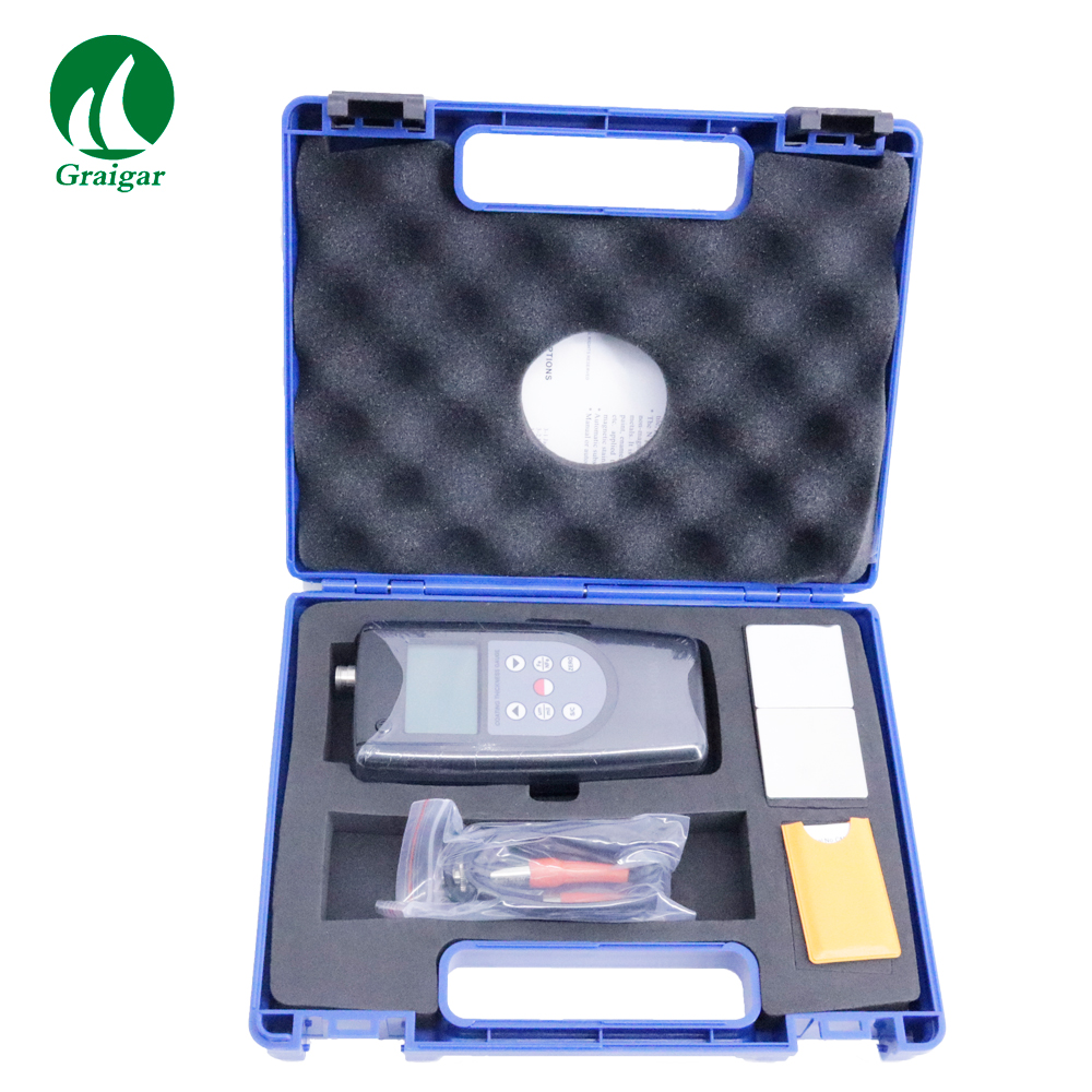 CM-1210A Coating Thickness Gauge F & NF Type Eddy Current Range 0-2000um/0-80mil
