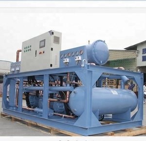 Industrial refrigeration equipment Air handling condensing unit cooling system for cold storage project