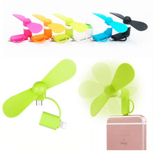 Universal Micro Mini USB Gadgets Cooler Fan Summer Cooling Travel Portable Eletronic Fan