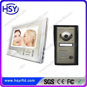 HOT selling Night vision Wired Commax Intercom video door phone