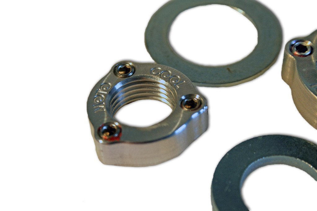 Honda CRF 450 Set Screw Axle Nut Upgrade [Rear]