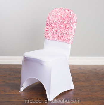 Peachy Pink Spandex Chair Covers Caps Buy Chair Back Caps Pink Chair Caps Spandex Chair Covers Caps Product On Alibaba Com Pdpeps Interior Chair Design Pdpepsorg