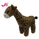 lovely and cute plush animal toy giraffe