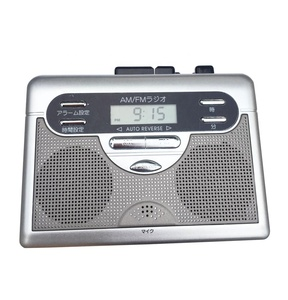 Cassette Recorder Player with Recorder AM FM Radio