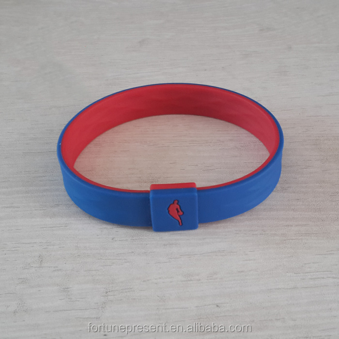 2016 basketball silicone rubber bands/nba rubber bracelets/silicone wristband gifts for promiton