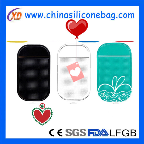 New product mobile phone pu silicone rubber anti slip pad
