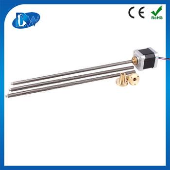 High torque nema 8 micro linear stepper actuator buy for Miniature stepper motors with linear actuation
