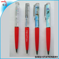 3D floater liquid floating plastic pen