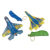 Children plastic launch glider small plastic toy airplane