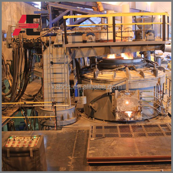 Metal Melting Electric Arc Furnace Steel Making Machinery With 5 ...