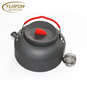 YUETOR 1.4L Outdoor Camping Hiking Kettle Tea Pot Coffee Pot Portable
