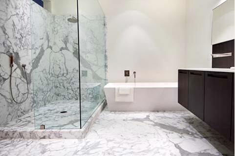 Calacatta lastra di marmo per hotel arredamento di lusso con un ...