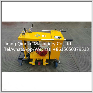 Concrete circular saw road round manhole covers cutting machine for sale