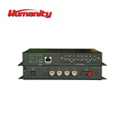 Humanity video to optical fiber multiplexer for 1550nm fiber optical transmitter and receiver