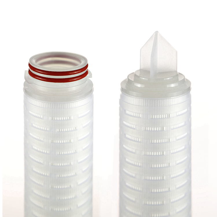 chemicals in muti-layer pp pleated filter cartridge with recycle water bottle with filtration
