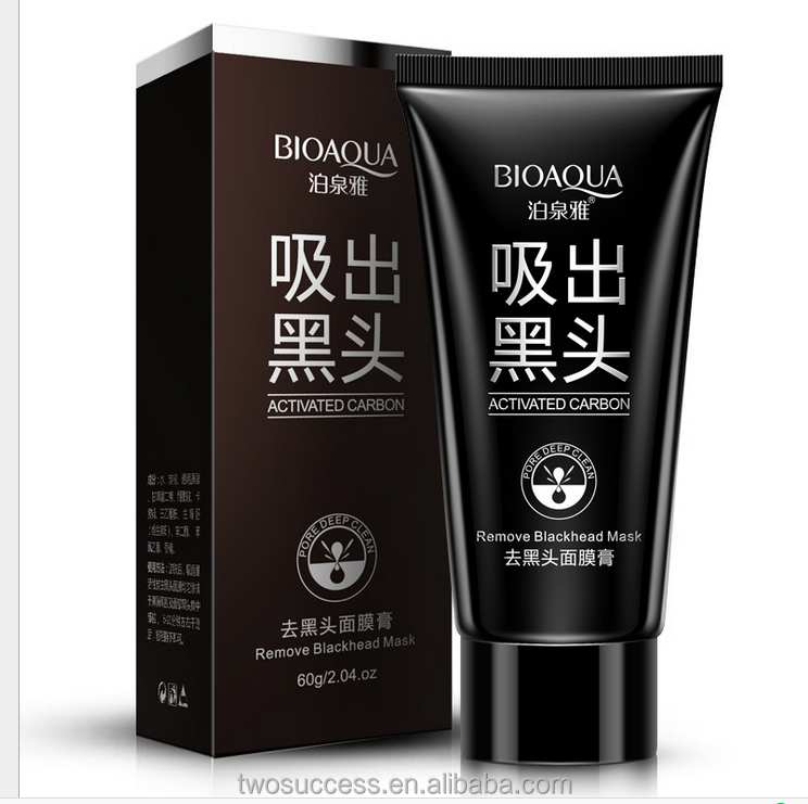 Factory price Deep Cleansing the Black head remover black mud face mask