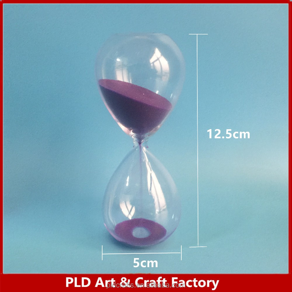 custom glass sand timer 15 minutes 20 minutes hourglass 30 minutes sand clock