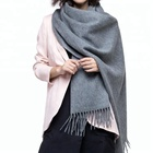 Best selling 100 wool solid color scarves shawls