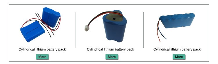 lithium battery 12v 18650 battery pack 4S1P LFP18650 1500mah