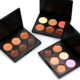 Private label Useful face makeups 6 color concealer palette OEM