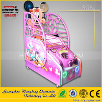 Wangdong amusement center children basketball shooting games electronic game machines for children