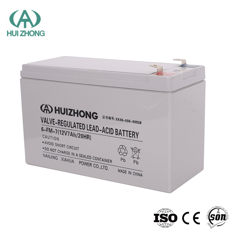 12V 7ah Maintenance Free sealed Lead Acid SLA VRLA Deep Cycle Solar Rechargeable Battery