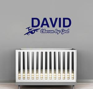 Get Quotations David Personalized Baby Name Meaning Wall Decals For Babies Boys Kids Custom Names Room