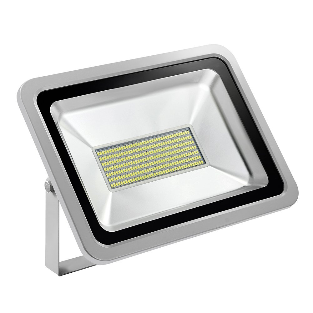 [150W LED Floodlight Warm/Cold Light] Luerme LED Flood Light Outdoor Security Light Lamp Waterproof IP65 for Patio Garden Lawn Bridge Landscape Wall Light (Cold White, 1Pack)