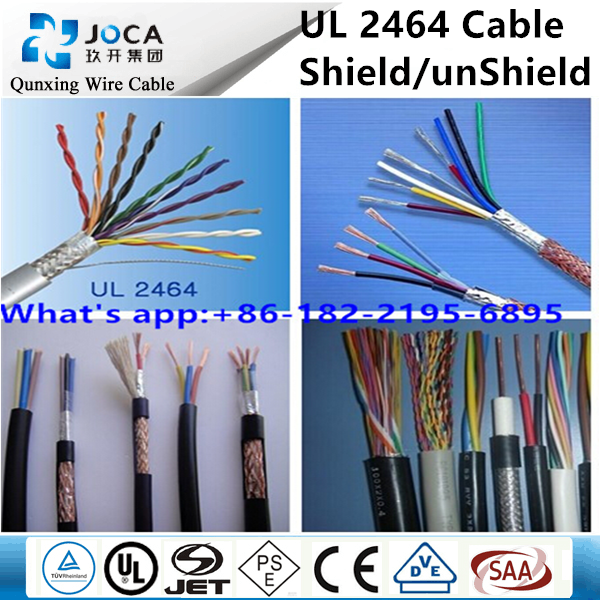 Copper Cable 24 Awg/22 Awg 3c Awm Ul 2464 Wire - Buy 22 Awg 2464 ...