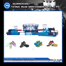 Injection molding machine two color sole injection machine