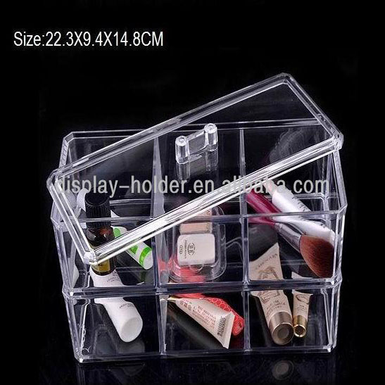 Plastic Acryl Clear cosmetische case